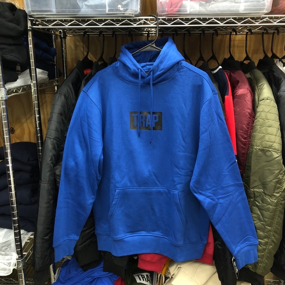 SuperlineATL Other - Trap Hoodie - Royal/Black